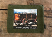 Wagon Eastern Sierra Museum #930 Medium & Large Hemp Coin Purse