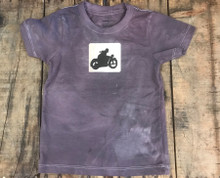Motorcycle Symbol Organic Cotton Kids T