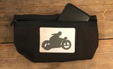 Motorcycle Symbol Hemp Hip Pack
