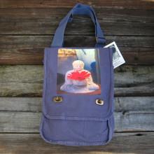 Buddha w/ Gerbera Daisy Field Bag