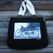 Bike Girly Tote Purse