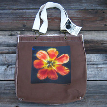 Groovy Tulip Girly Tote/purse