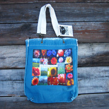 Take the time to smell the flowers Girly Tote/purse