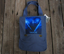 Blue Heart in Tahoe Field Bag