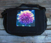 Amanda's Dahlia messenger bag