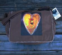 Love Supreme Heart messenger bag