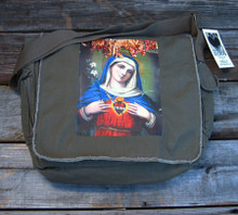 Immaculate Heart of Mary messenger bag
