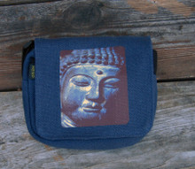 Buddha's Face Small & Large City Slicker Hemp Purse/Bag