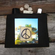 Peace Sign Taos Medium & Large Hemp Coin Purse