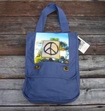 Peace Sign Taos Field Bag
