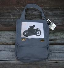 Motorcycle Symbol Field Bag