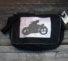 Motorcycle Symbol Messenger Bag