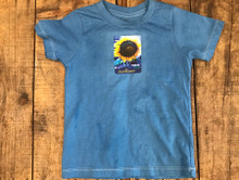 Majestic Sunflower Certified Organic Kids T-Shirt