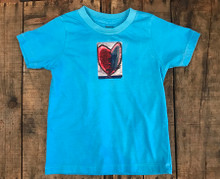 Cosmic Interlude of Love Heart Certified Organic Cotton Kids T-Shirt