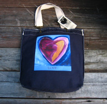 Besitos Dulces Heart (sweet kisses) LOVE Girly Tote