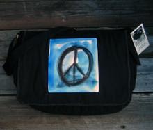 Peace Sign Messenger Bag