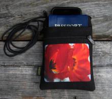 Georgia's Tulip  Hemp 3 Zip bag/purse