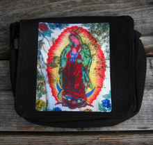 Our Lady of Guadalupe small & large  city slicker hemp purse