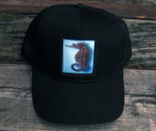 Sea Horse Keep on Truckin Organic Cotton Trucker Hat