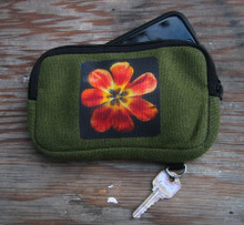 Groovy Tulip Hemp Cell Phone/Wallet Case