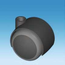 One of our 50mm Soft Castors.