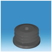 Round Threaded Insert in a variety of Sizes and Stem Thicknesses