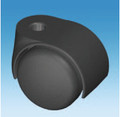 50mm Twin Hard Wheel Swivel Castors with Flat Top  with choice of Stem Size or Fixing Plate