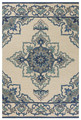 """CATANIA"" INDOOR OUTDOOR RUG - 3'3"" X 5'3"" - ORIENTAL DESIGN RUG"