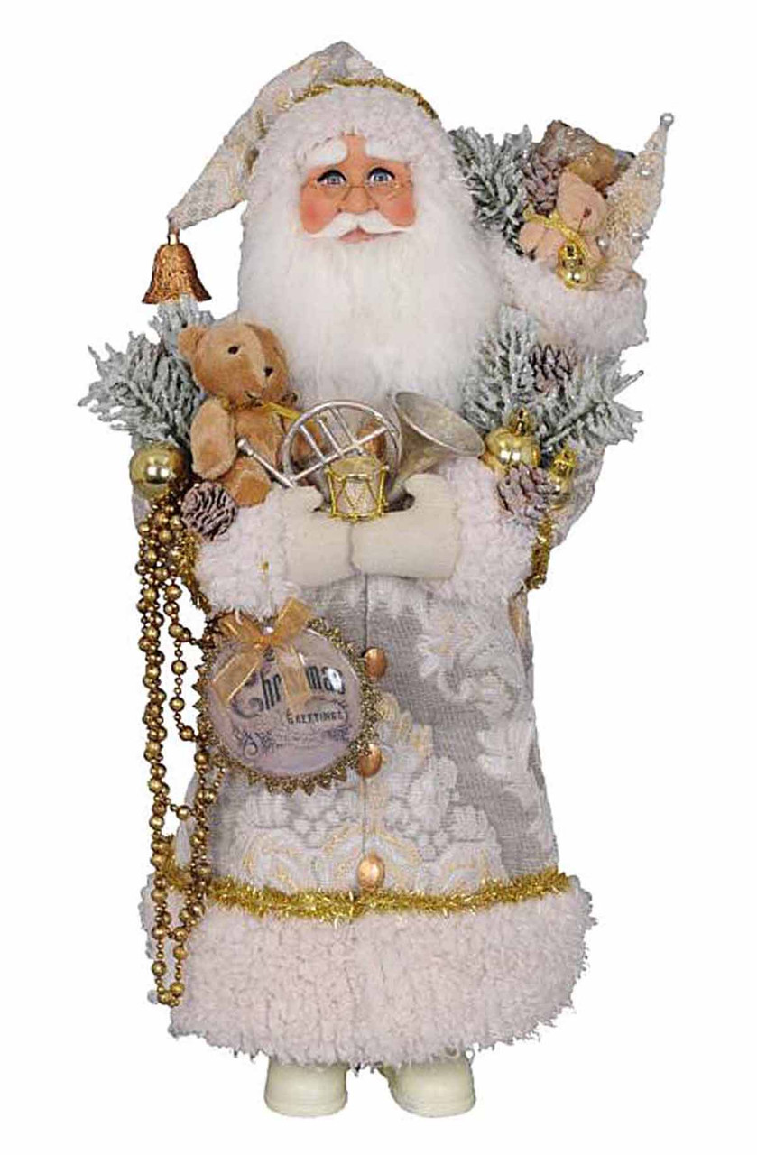 Christmas Splendor Santa Figurine Kensington Row Santas