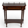 CHESHIRE INLAID CONSOLE TABLE - ENTRYWAY TABLE - PLANTATION CHERRY FINISH - FREE SHIPPING*