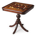 WHITEHALL GAME TABLE - PLANTATION CHERRY FINISH - CHESS - CHECKERS - BACKGAMMON - FREE SHIPPING*