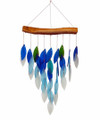 "WIND CHIMES - ""SOUTH BEACH"" GLASS WATERFALL WIND CHIME"