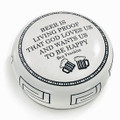 DESK ACCESSORIES - GOD LOVES US PAPERWEIGHT - BEER PAPERWEIGHT