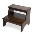 EASTWICK WOODEN STEP STOOL - 2-STEP BED STEPS - PRALINE FINISH - FREE SHIPPING*