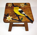 GOLDFINCH FOOTSTOOL