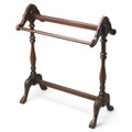 JAMESTOWN QUILT STAND - BLANKET RACK - PLANTATION CHERRY FINISH - FREE SHIPPING*