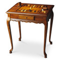 WELLINGTON GAME TABLE - OLIVE ASH BURL FINISH - FREE SHIPPING*