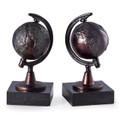 GLOBE TREKKER BOOKENDS