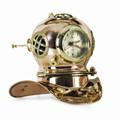 DIVING HELMET CLOCK - DIVERS HELMET CLOCK - NAUTICAL DECOR