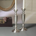 LEXINGTON SQUARE CANDLESTICK PAIR - CANDLE HOLDERS