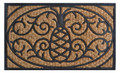 "PINEAPPLE RUBBER BACKED DOORMAT - 18"" x 30"""