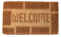 """WELCOME HOME"" TRADITIONAL COIR DOORMAT - 18"" x 30"" - DOOR MAT - WELCOME MAT"