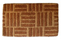 """CROSSROADS"" TRADITIONAL COIR DOORMAT - 18"" x 30"" - DOOR MAT _ WELCOME MAT"