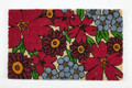 "FLORIBUNDA COIR DOORMAT - 17"" x 28"" - DOOR MAT - WELCOME MAT"