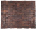 "CARLISLE ROSEWOOD DOORMAT - 18"" x 30"" - EXOTIC WOOD DOOR MAT - WELCOME MAT"