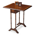 MAYFAIR DROP LEAF TABLE - SIDE TABLE - UMBER FINISH - FREE SHIPPING*