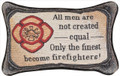 """FIREFIGHTERS"" PILLOW - FIREMAN - FIREFIGHTER - FIRST RESPONDERS"