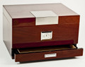 """CARACAS"" 60 CIGAR HUMIDOR WITH HYGROMETER & HUMISTAT"
