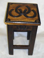 HORSESHOE ACCENT TABLE - EQUESTRIAN HOME DECOR