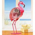 """FLORIDA KEYS"" PINK FLAMINGO SINGLE-SPEED ELECTRIC TABLE FAN - PORTABLE FLAMINGO FAN"